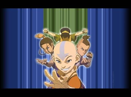 Avatar Team, Anime avatar aang computer desktop wallpapers