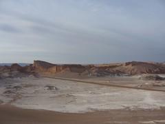 San Pedro Atacama - Valle de la luna - paysage