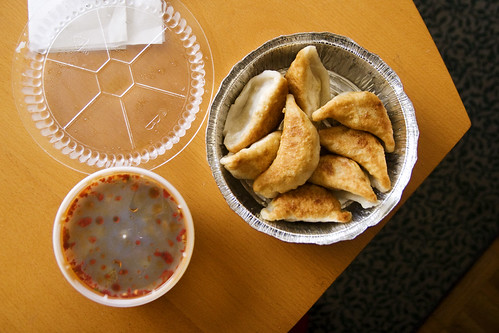 dumplings, from above