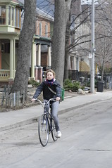 Spring's in! Bicycle's out