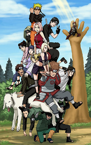 naruto shippuden group pic