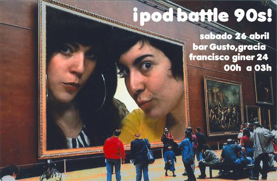 ipod battle 90s!