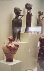 Mycenaean Terracotta Votives (greekgeek) Tags: terracotta clay figurine votive mycenae mycenaean