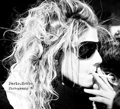 Oooh, you've got to just, Vogue! (bogob.photography) Tags: friends light people blackandwhite bw italy white black cute girl sunglasses fashion geotagged torino fun interesting nikon friend europa europe italia gente victim bn persone most vogue nikkor 2008 amici turin bianco nero 1870mm luce amica ragazza occhiali pasqua 1870 grigliata f3545 d80 f3445 peoplesfavorites fashionaddicted personafriend