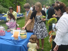 at the candy table (alist) Tags: family wedding alist robison alicerobison ajrobison