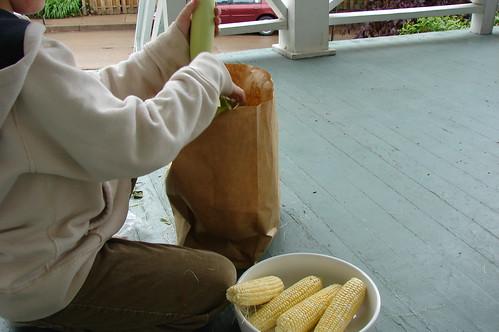 Corn Huskin'