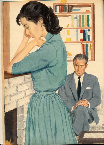 Woman with a Scar - Tom Dunn 1958 (by senses working overtime)