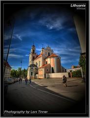Lithuania (Lars Tinner) Tags: church kirche hdr lithuania vilnius litauen wwwtinnersg httpwwwtinnersg tinnersg