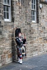 Bagpiper High Street Royal Mile Edinburgh (M&M_Photography) Tags: kilt musician edinburgh highstreet royalmile bagpiper scotland europe musico gaiteiro gaita people picture photo followme