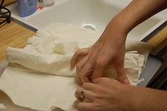 separating phyllo dough