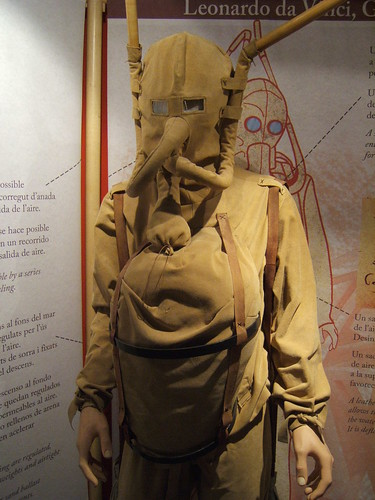 leonardo da vinci diving suit - photo #4
