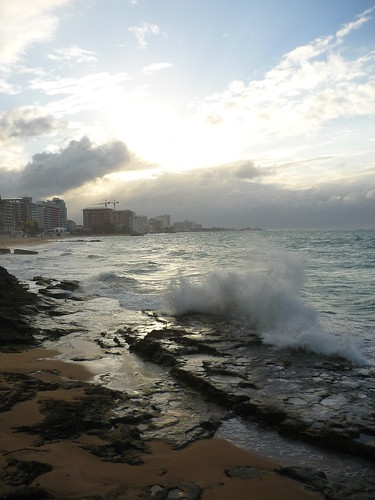 Condado before sunset