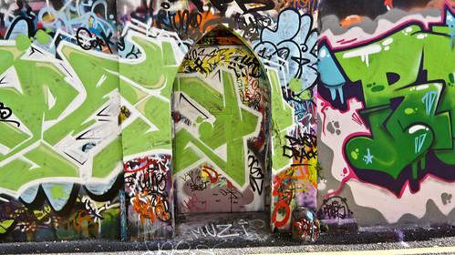 Street Art - Crosses Green, Cork.