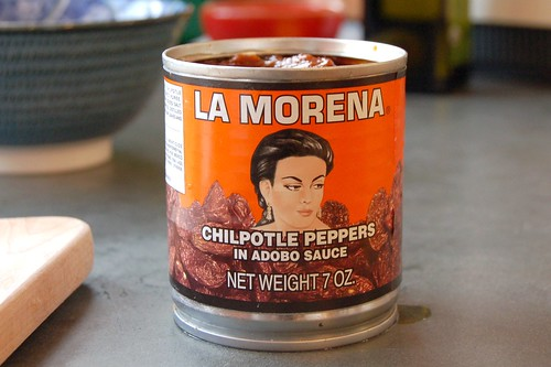 """La Morena"" brand Chipotles in Adobo by Eve Fox, Garden of Eating blog copyright 2011"