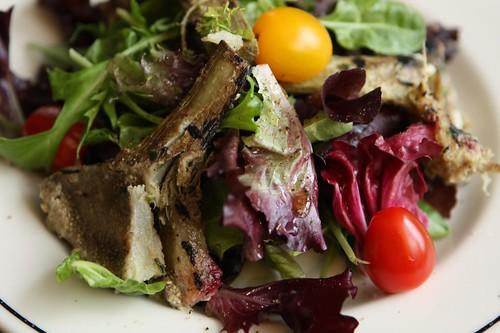 Grilled Artichoke Salad