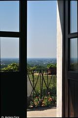 Una finestra sul verde (Barbara Fi@re) Tags: verde nikon italia chiesa fiori collina friuli manzano vigneti abbaziarosazzo