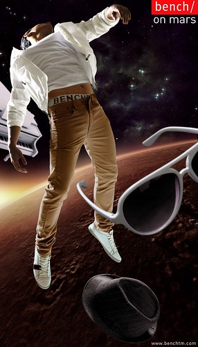 Bench on Mars