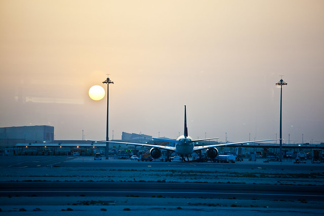 Sunrise over Doha