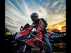 the rider III (Kris Kros) Tags: california ca sunset sky usa cloud 3 game bike cali digital movie poster la us losangeles video nikon searchthebest daniel iii helmet like fast xbox socal future backpack kris motorcycle suzuki d200 playstation hdr robocop furious kkg 2007 blend gsxr blending wii blueribbonwinner kros kriskros 1xp kk2k therider kkgallery