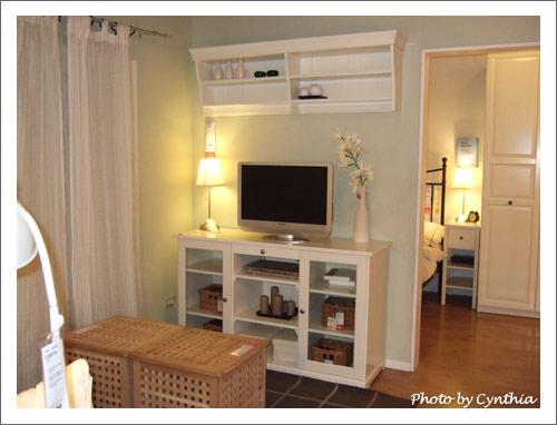 IKEA白色電視櫃