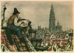 7 (Antoon's Foobar) Tags: schilder schilderij painter anton prent pieck prenten prentjes