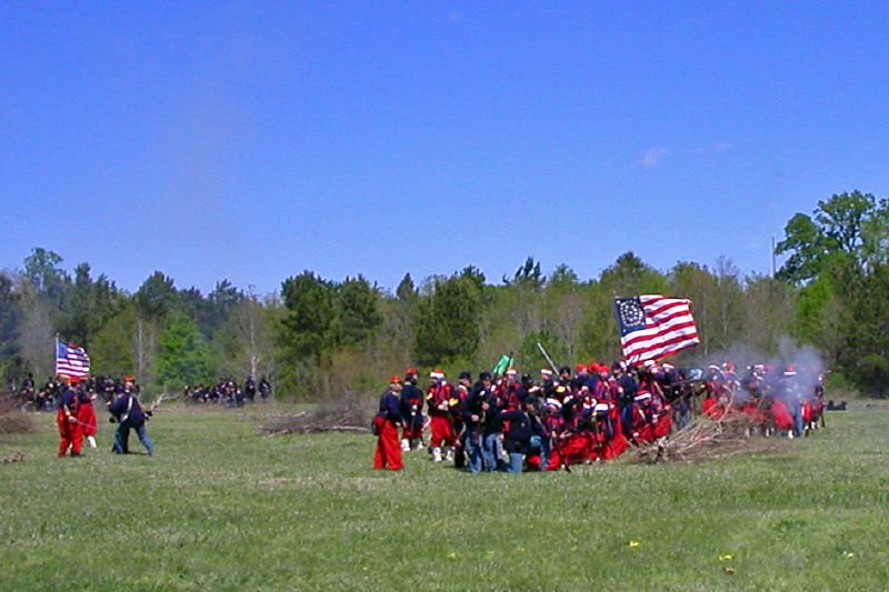 Louisiana Reenactment