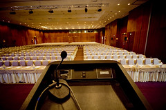Salón de Conferencias en EBE 07, por Victoriano Izquierdo