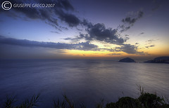 iDEAS FOR LIFE (GIUSEPPE GRECO PHOTO) Tags: sunset sea italy beach clouds canon landscape island eos ischia hdr 2007 waterscape maronti photomatix sigma1020 400d aplusphoto giuseppegreco
