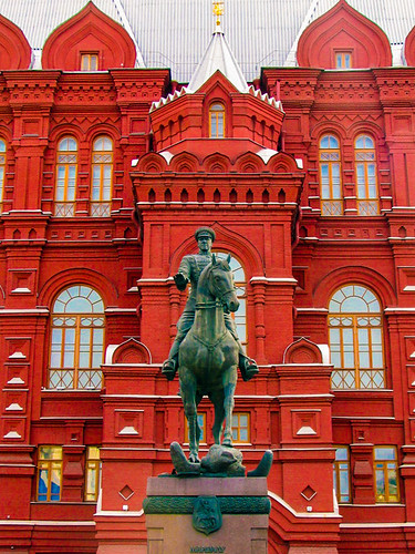 Building on Red Square