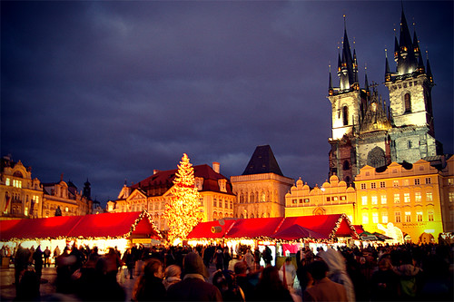 Prague of especially at Christmas
