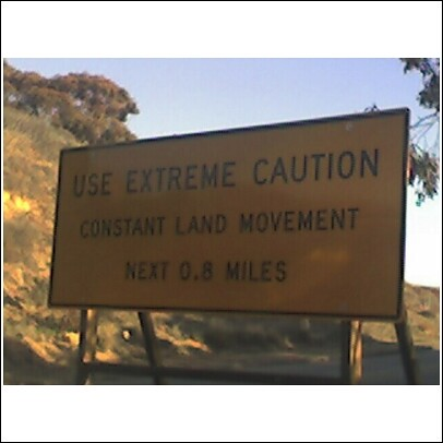 road sign in Palos Verdes