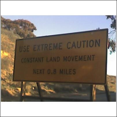 road sign in Palos Verdes