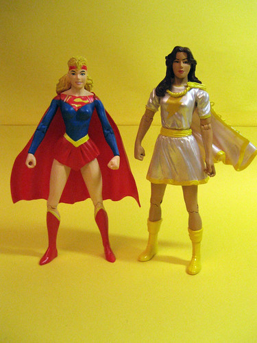 Supergirl and Mary Marvel
