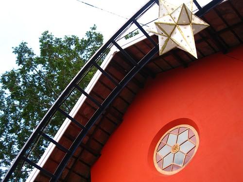 חלון בצורת כוכב בן ששה קדקודים הודו