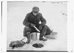 Fishing thru ice  (LOC)