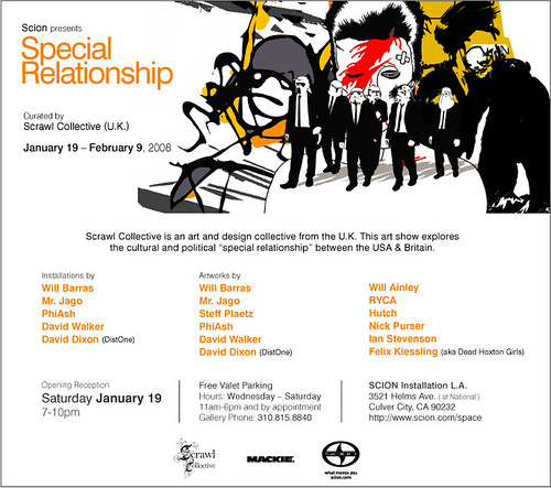 scion presents special relationship curated by scrawl collective