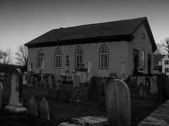 Church in Repose (road_less_trvled) Tags: graveyards eerie historic creepy spooky pa warwick stmarysepiscopalchurch colonialcemeteries oldwarwickroad