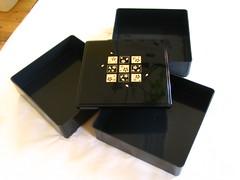 Black jyubako box