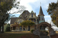 W E Tate home (stevesheriw) Tags: weatherford texas queenanne parkercounty architecture wetate 1897 808slamar house georgefbarber