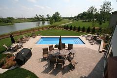 Composite Pools - Venus - inground fiberglass pools Oswego, IL
