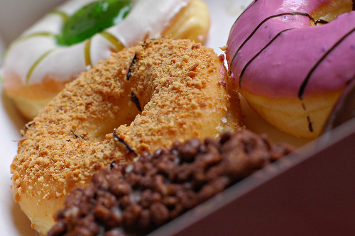 Big Apple donuts.
