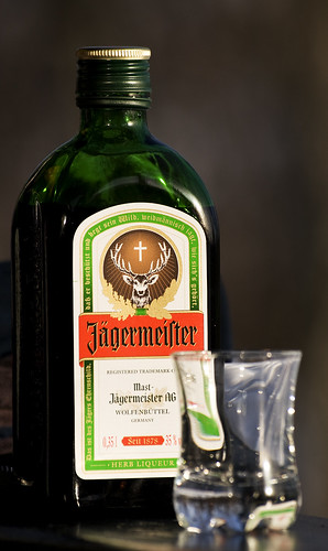 Jägermeister in the sun