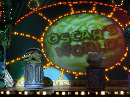 Uh oh . . . it is Oscar's World