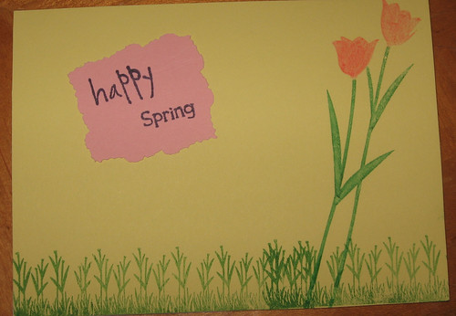 happy spring card 1
