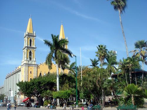 Catedral de Mazatlán, Viejo Mazatlán
