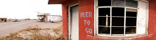 Beer has gone in Fort Hancock, Texas, USA