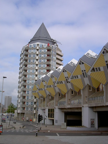 Rotterdam photo pencil house