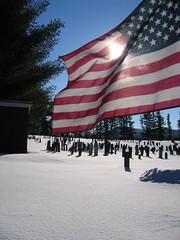 flag graveyard