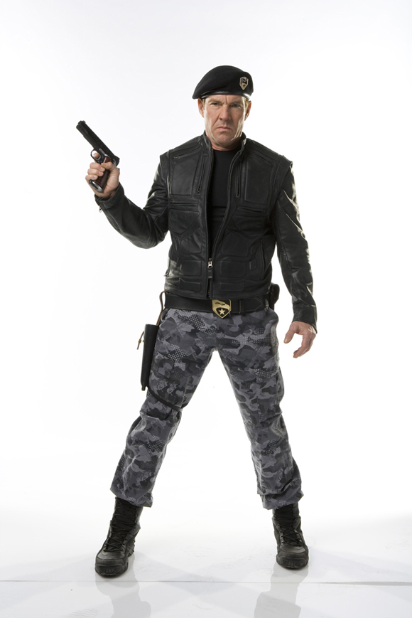 Dennis Quaid G.I. Joe Hawk