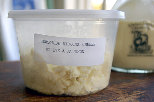 Homemade Ricotta by Eve & Naushon